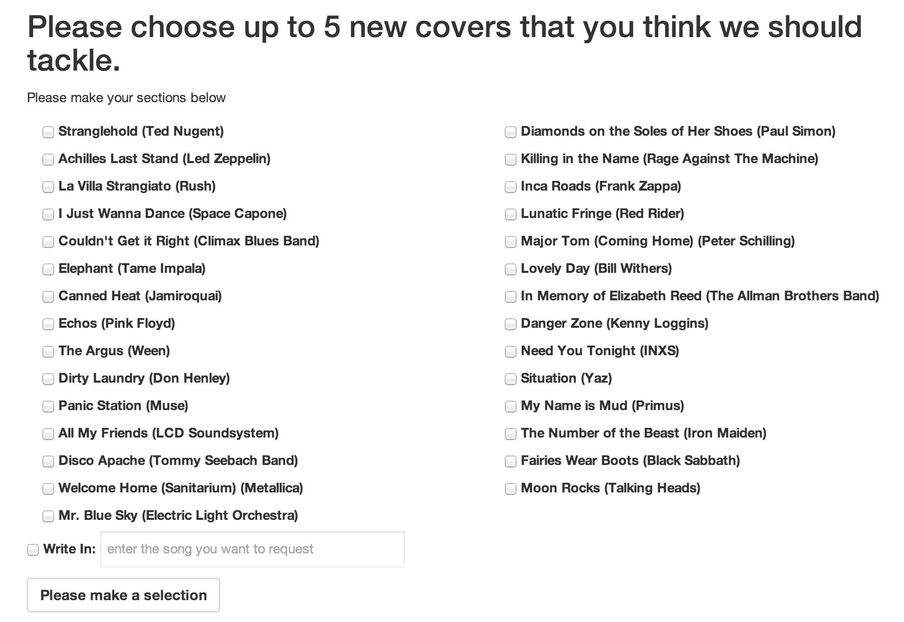 N2F Launch Ballot: New Covers