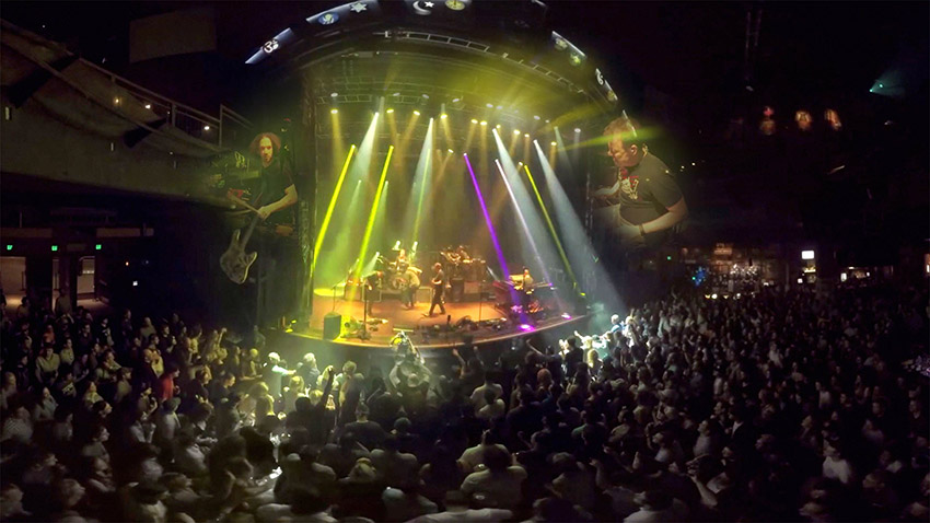 Umphrey's Teams with Reel FX to Release Interactive Virtual Reality